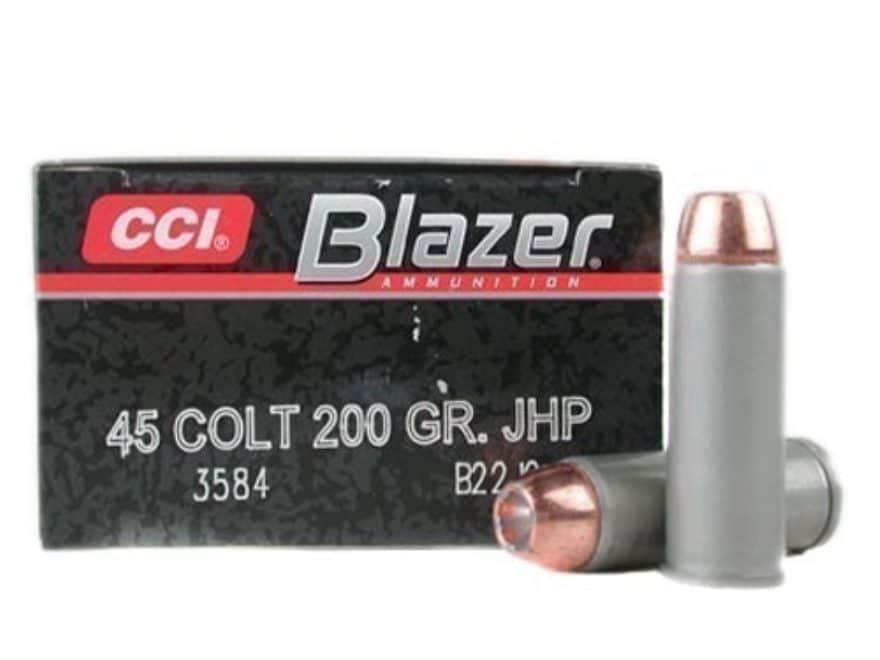 blazer ammo 45 colt long colt 200 grain jacketed mpn 3584 50