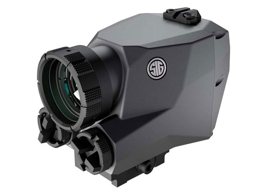 Sig Sauer ECHO1B Thermal Reflex Sight 1-2x 30 Hz 206x156 Picatinny-Style Mount Graphite