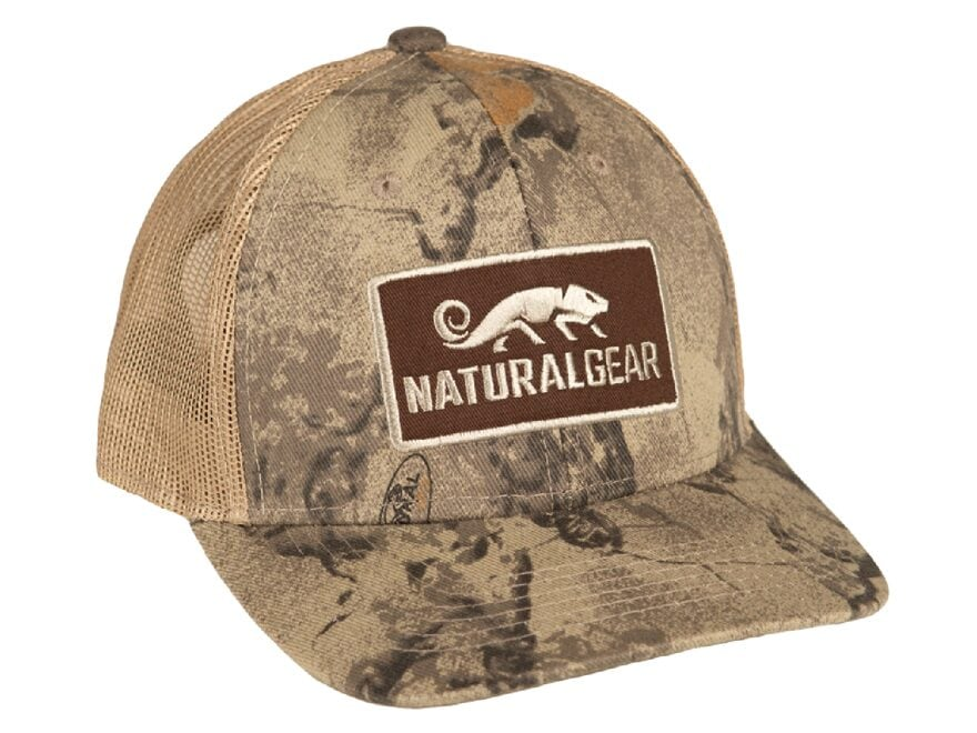 Natural Gear Mid Pro Classic Trucker Cap Polyester Natural Camo