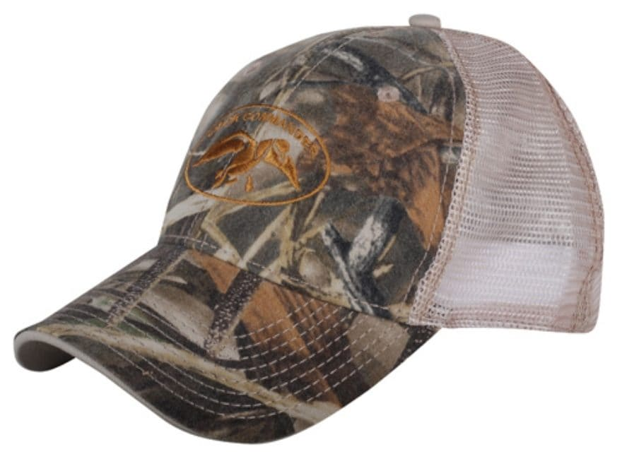 5447f896962fd Duck Commander Camo Mesh Fitted Cap Realtree Max-4 and Tan. Alternate Image