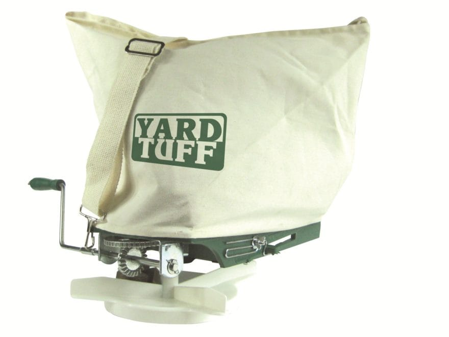 Yard Tuff Shoulder Broadcast Spreader 25 Pound