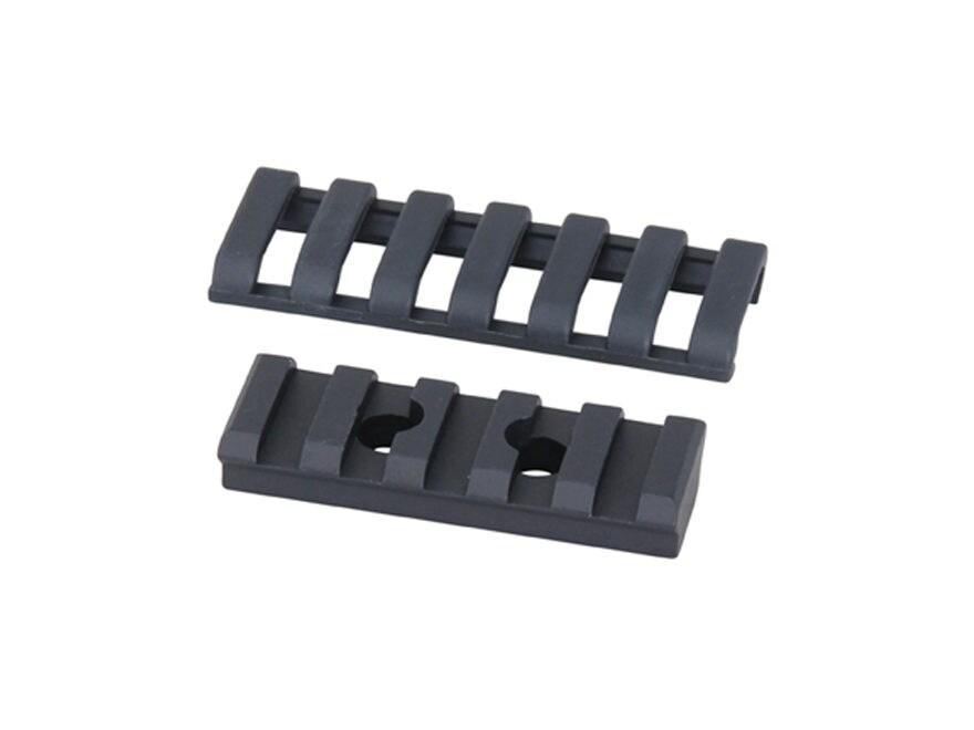 ERGO Picatinny Rail with Rail Covers and Mounting Hardware AR-15 Handguard Aluminum Black