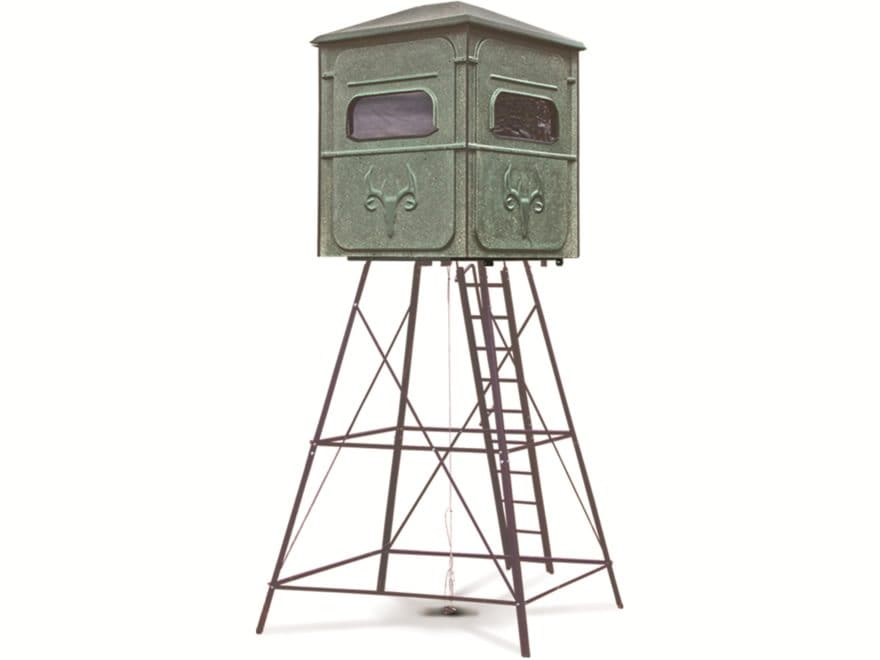 Redneck Blinds Trophy Tower Platinum 5x5 Box Blind