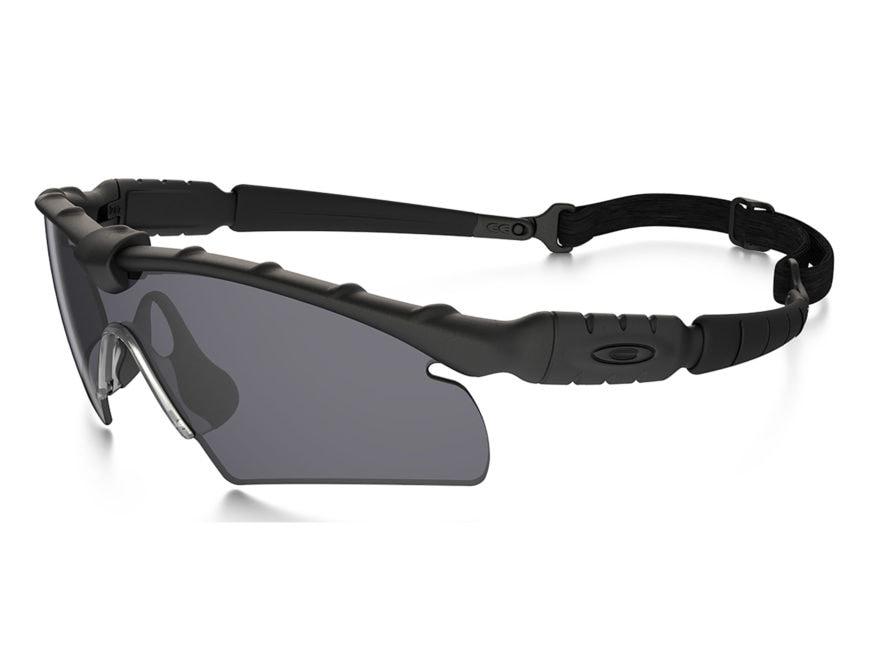 2b38e0d6403 Oakley SI Ballistic M-Frame 2.0 Sunglasses Matte Black Frame Hybrid Gray  Lens