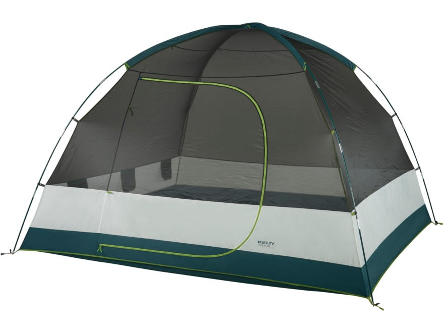 "Kelty Outback 6 Person Dome Tent 118"" x 106"" x 76"" Polyester Gray"