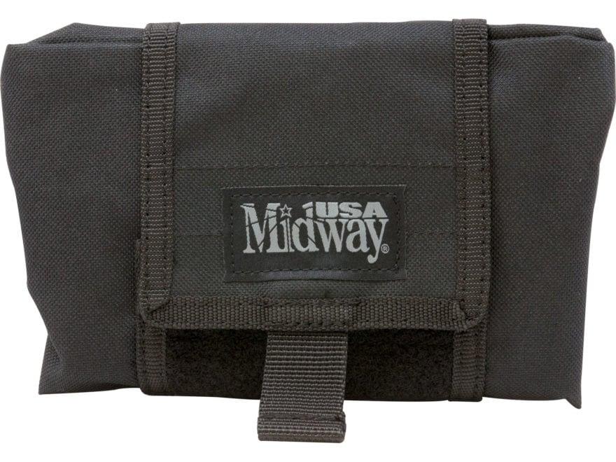 MidwayUSA Folding Dump Pouch Black