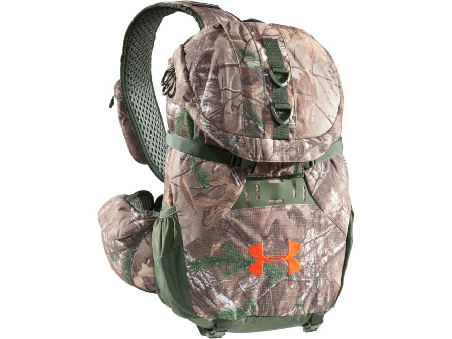 pretty nice da34f 29a5a Under Armour UA Ridge Reaper Sling Backpack Polyester and Nylon Realtree  Xtra Camo