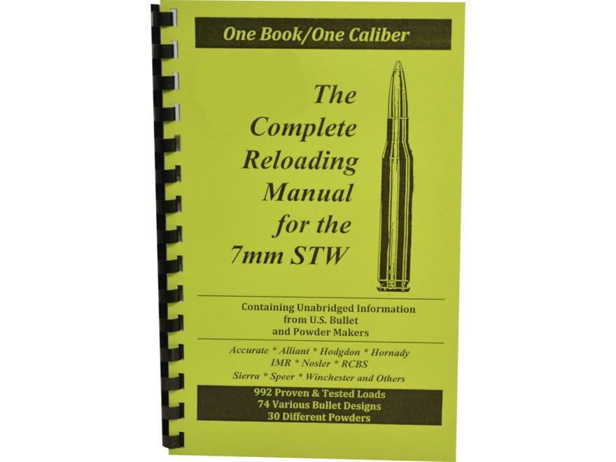 "Loadbooks USA ""7mm STW"" Reloading Manual"