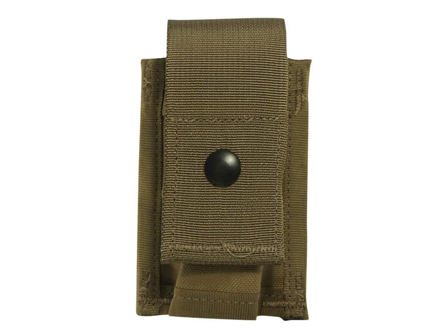 Military Surplus MOLLE II 40mm Grenade Pouch Single Nylon Coyote