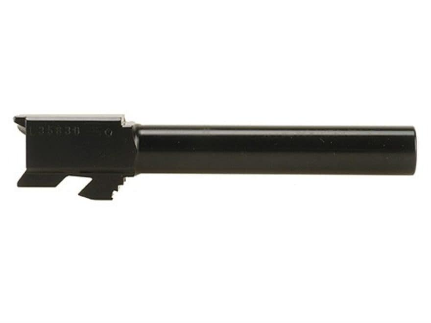 "Glock Barrel Glock 17 9mm Luger 1 in 9.84"" Twist 4.49"" Carbon Steel Matte"