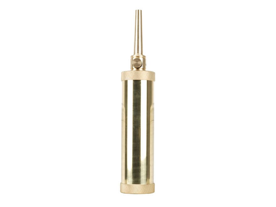 Traditions Deluxe Tubular Powder Flask Brass