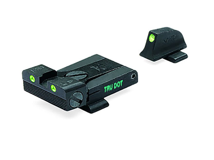 Meprolight Tru-Dot Adjustable Sight Set Sig P220, P225, P226, P228 Steel Blue Tritium G...