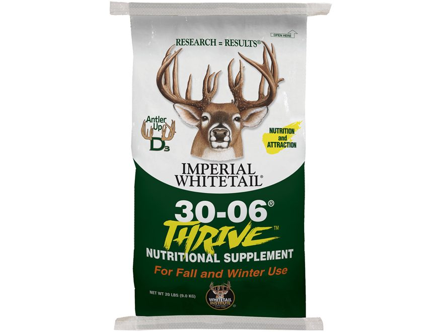 Whitetail Institute 30-06 Thrive Deer Attractant 20 lb
