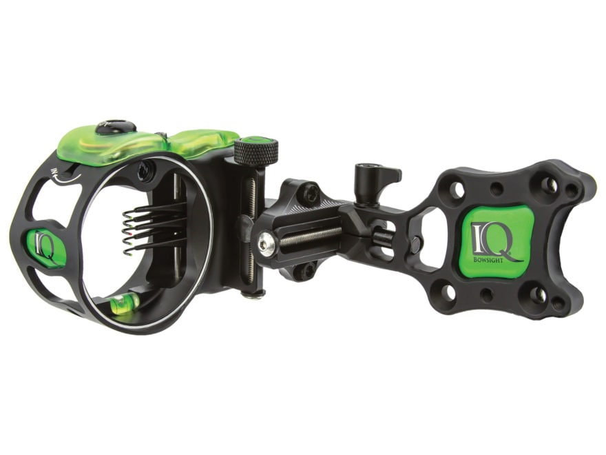 "IQ Micro Bow Sight with Retina Lock .019"" Pin Diameter Right Hand Black"