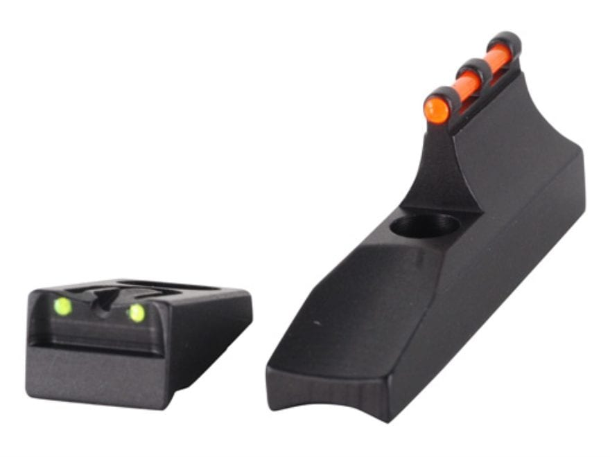 Williams Fire Sight Set Remington 597 (Post 2006) Aluminum Black Fiber Optic Red Front,...