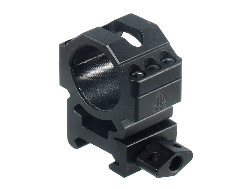 """Leapers UTG 1"""" Max Strength Tactical 6-Hole Quick Detachable Twist Lock Picatinny-Style..."""