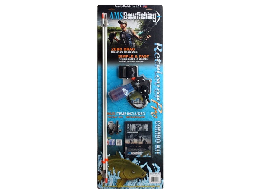 AMS Retriever Pro Bowfishing Combo Kit Right Hand