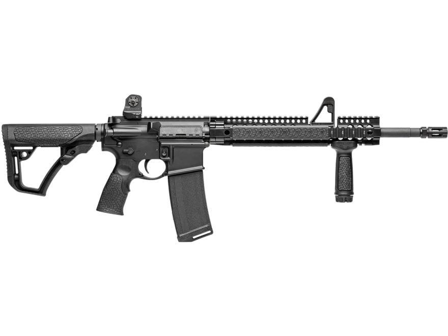 "Daniel Defense DDM4v1 Carbine 5.56x45mm NATO 16"" Barrel 32-Round Polymer Black"
