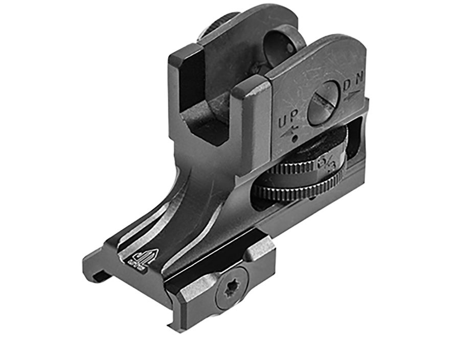 UTG Super Slim Fixed Rear Sight AR-15 Aluminum Matte