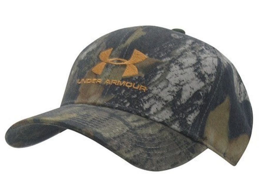 bc4177c1761 Under Armour Adjustable Cap Synthetic Blend Mossy Oak Break-Up Camo Large.  Alternate Image