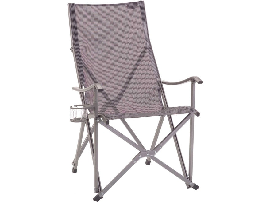 Coleman Patio Sling Camp Chair Polyester and Aluminum