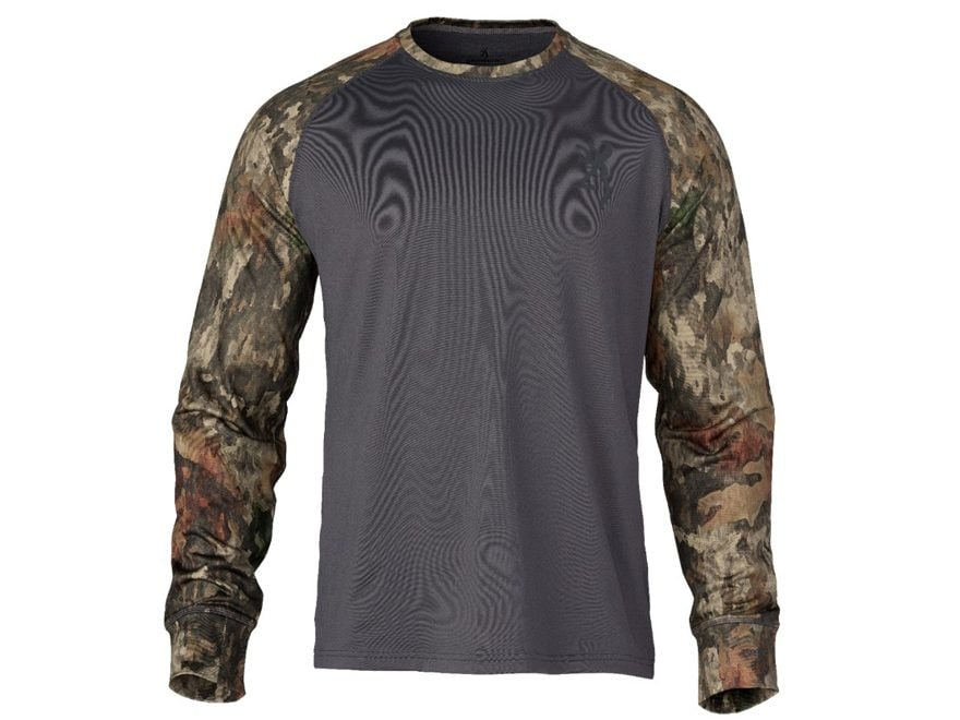 Browning Men's Hell's Canyon Speed Riser-FM Base Layer Shirt Long Sleeve Polyester/Spandex