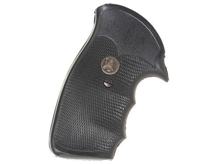 Pachmayr Gripper Grips with Finger Grooves Ruger Security Six Rubber Black