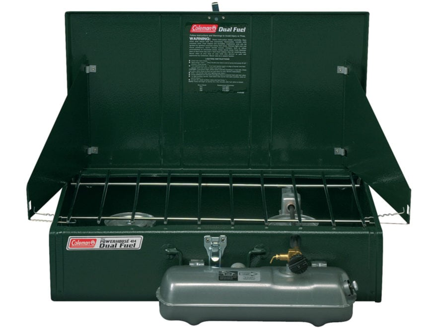 Coleman Powerhouse 2-Burner Dual Fuel Camp Stove