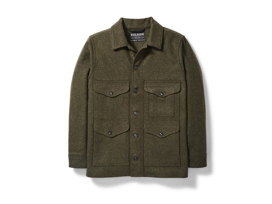 Filson Men's Mackinaw Cruiser Jacket Mackinaw Wool