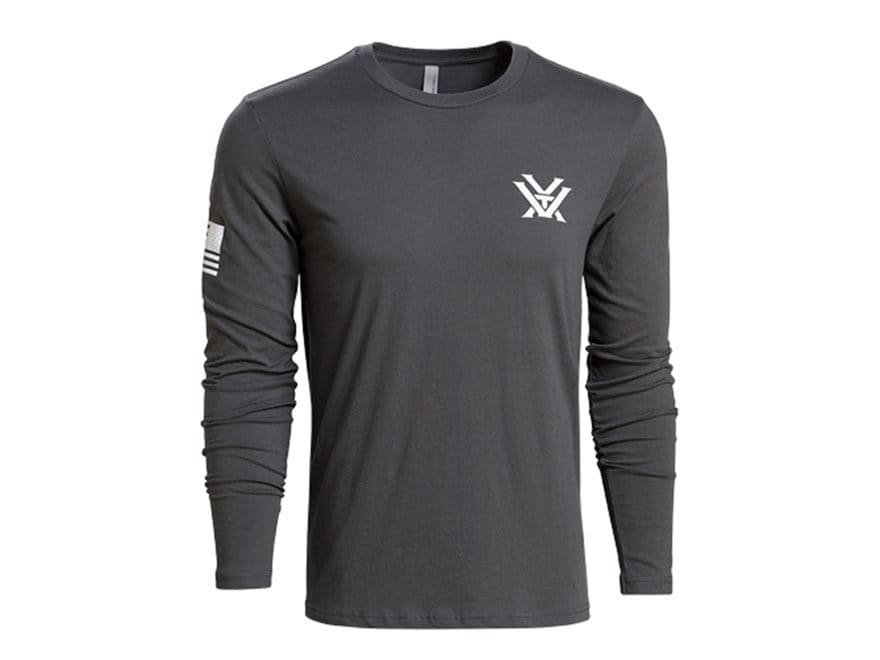 Vortex Optics Men's Patriot T-Shirt Long Sleeve Cotton