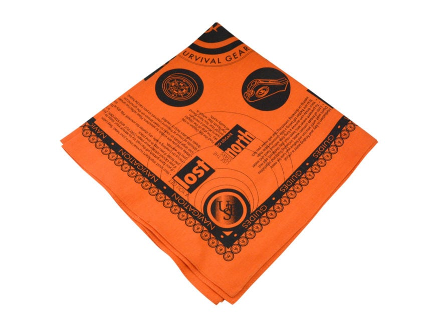 UST Survival Bandana Orange