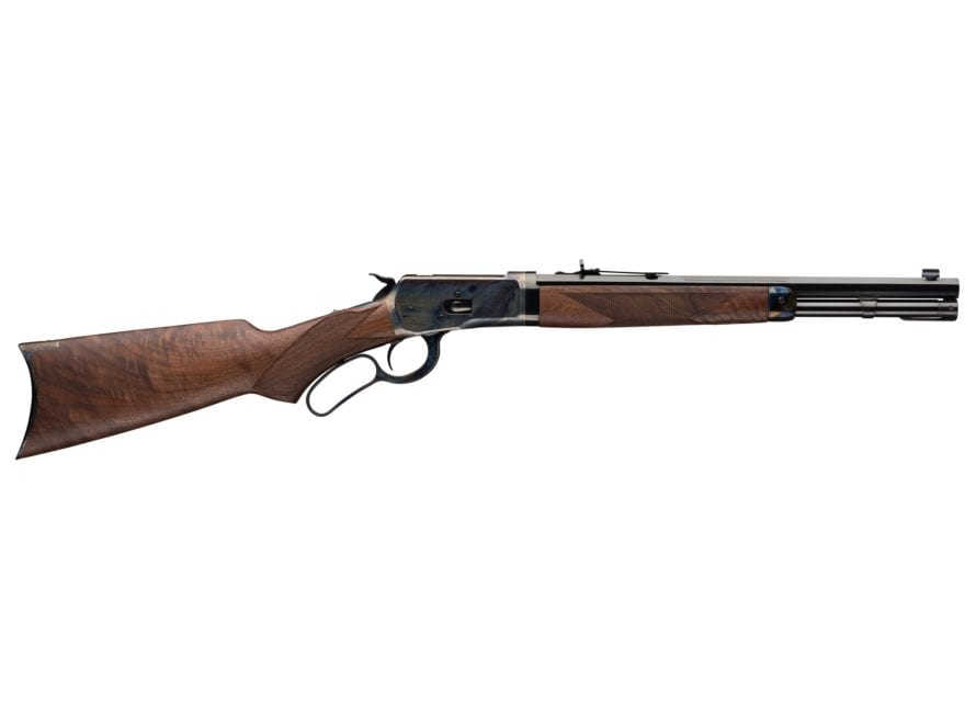 """Winchester 1892 Deluxe Trapper Takedown Lever Action Carbine 16"""" Barrel Blue and Walnut"""