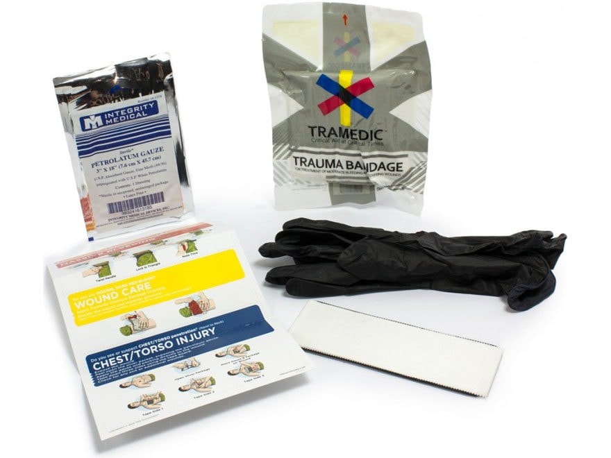 TMS Outdoors Hunter's Trauma Kit Replacement Parts Kit