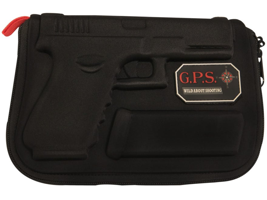 G.P.S. Custom Molded Pistol Case Glock Pistols Black