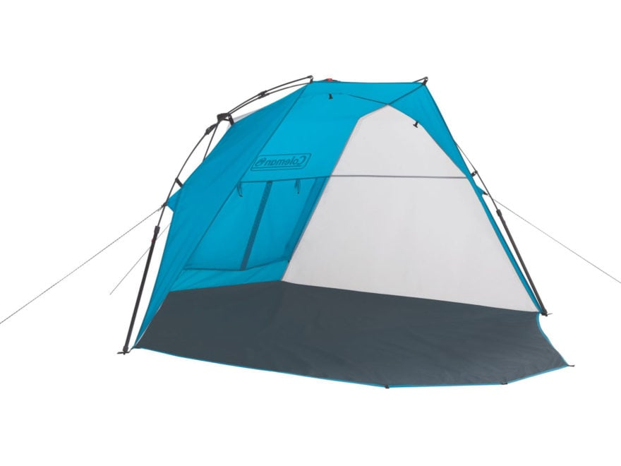 Coleman Shoreline Instant Shade Shelter Polyester Blue and Gray