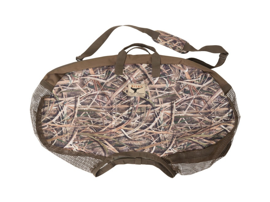 Avery Silhouette Decoy Bag Polyester Mossy Oak Shadow Grass Blades Camo