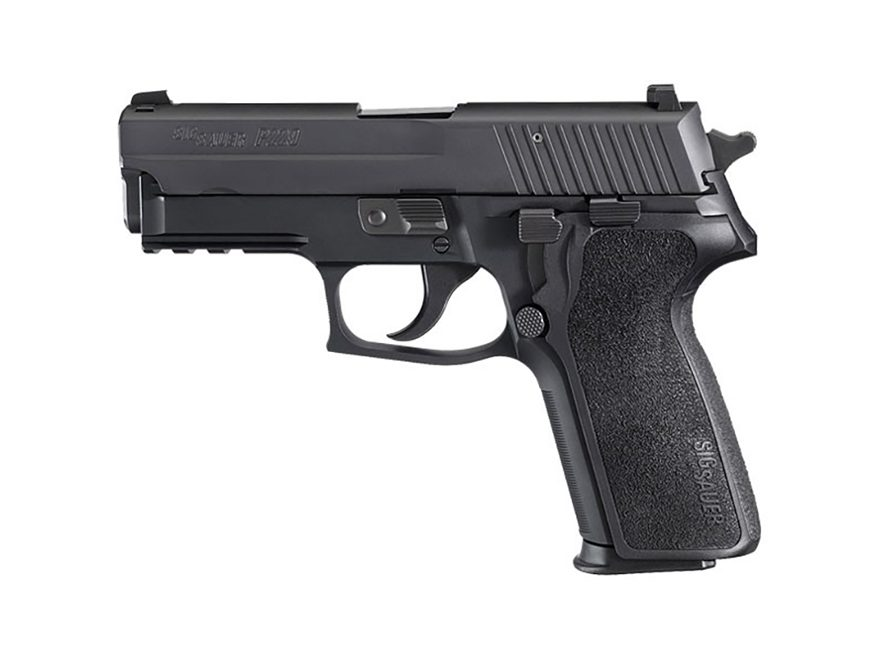"""Sig Sauer P229 Pistol 9mm Luger 3.9"""" Barrel Siglite Night Sights 15-Round Nitron Black ..."""