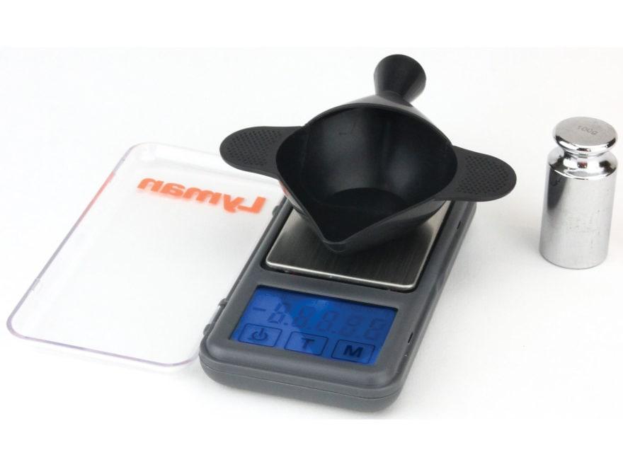Lyman Pocket Touch 1500 Digital Scale Kit 1500 Grain Capacity