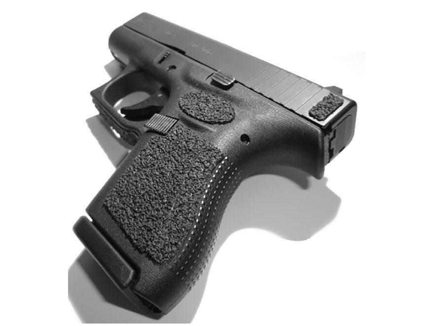 Decal Grip Tape Glock 4th Generation 42 Sand Black