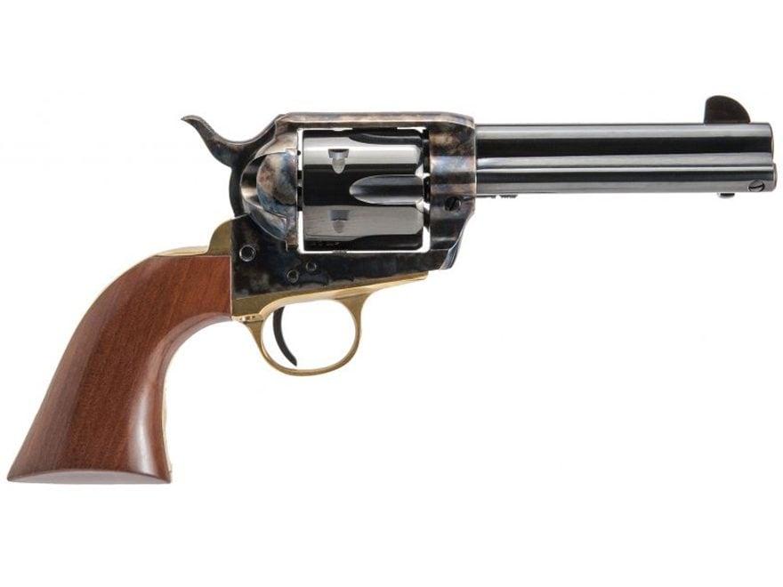 "Cimarron Pistolero Revolver 4.75"" Barrel 6-Round Walnut"