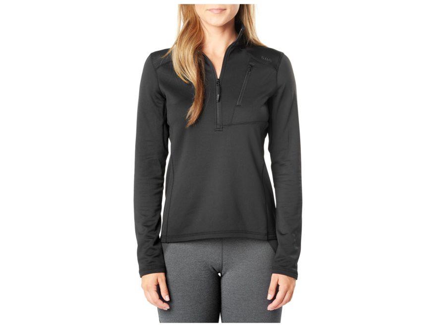 5.11 Women's Glacier 1/2 Zip Pullover Polyester/Spandex