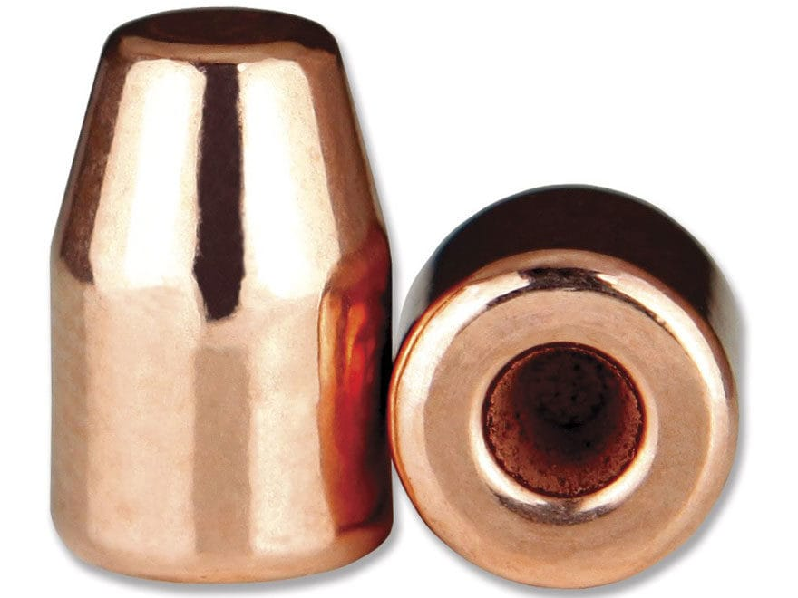 Berry's Superior Plated Bullets 9mm (356 Diameter) 124 Grain Plated Hollow Base Flat Po...
