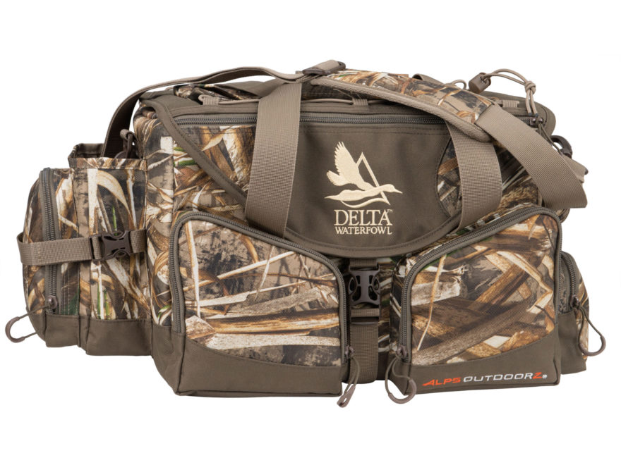 Delta Waterfowl Floating Deluxe Blind Bag Nylon Realtree Max-5 Camo