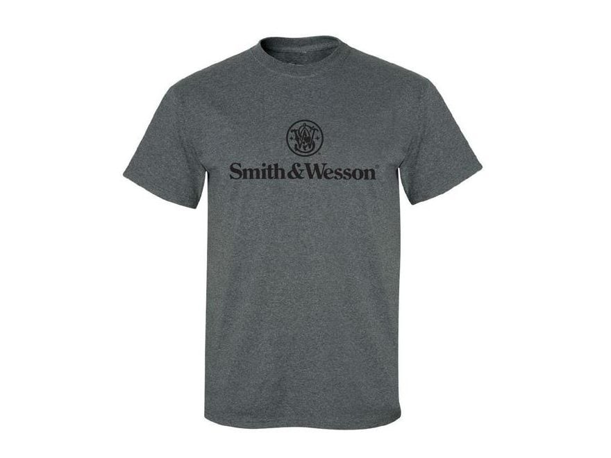Smith & Wesson Men's Logo Short Sleeve Shirt Cotton/Poly Blend
