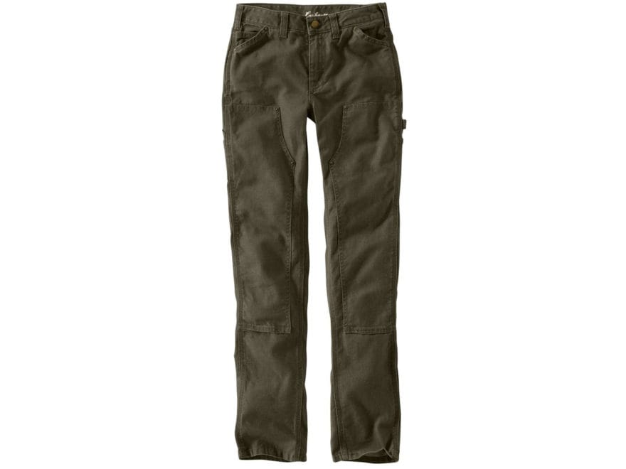Carhartt Women's 1889 Slim Fit Canvas Dungaree Pants Cotton