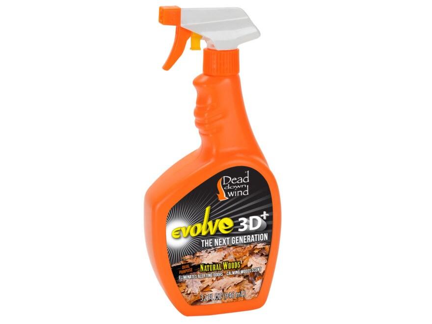 Dead Down Wind e3 ESP 3D+ Scent Elimination Field Spray Natural Woods Scent 32 oz