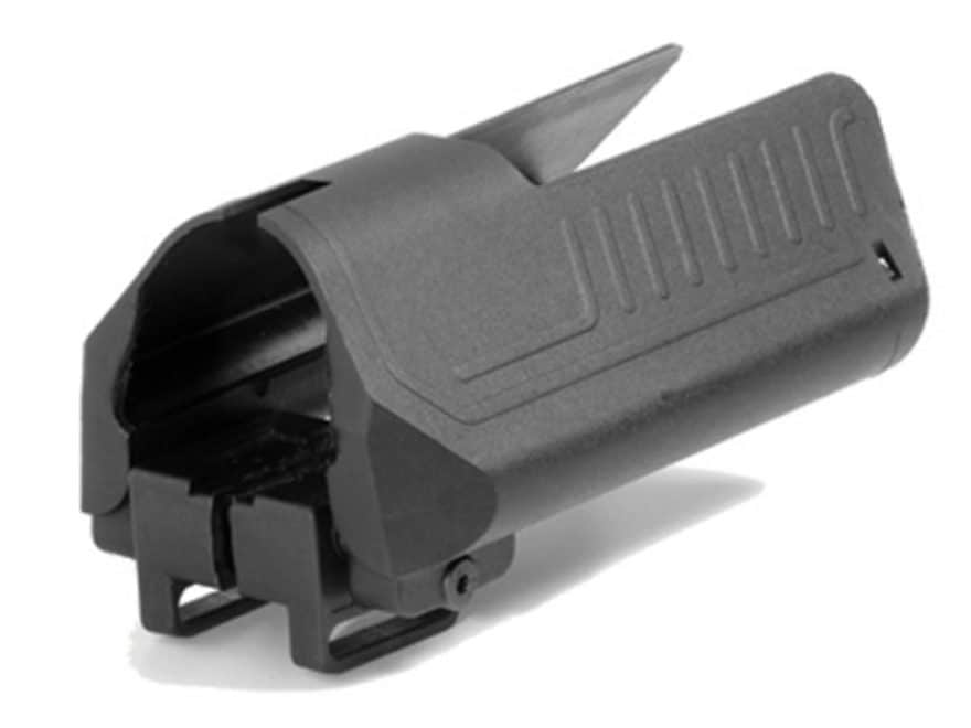 Command Arms Stock Saddle with Battery Compartment for AR-15 M4-Style  Collapsible Stock Rubber Overmolded Polymer Black