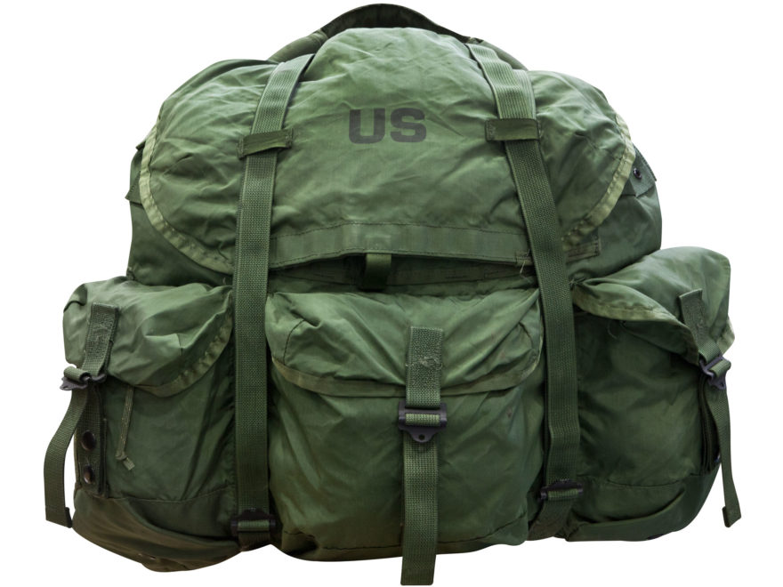 Military Surplus Large ALICE Pack (Main Pack Only) Nylon Olive Drab