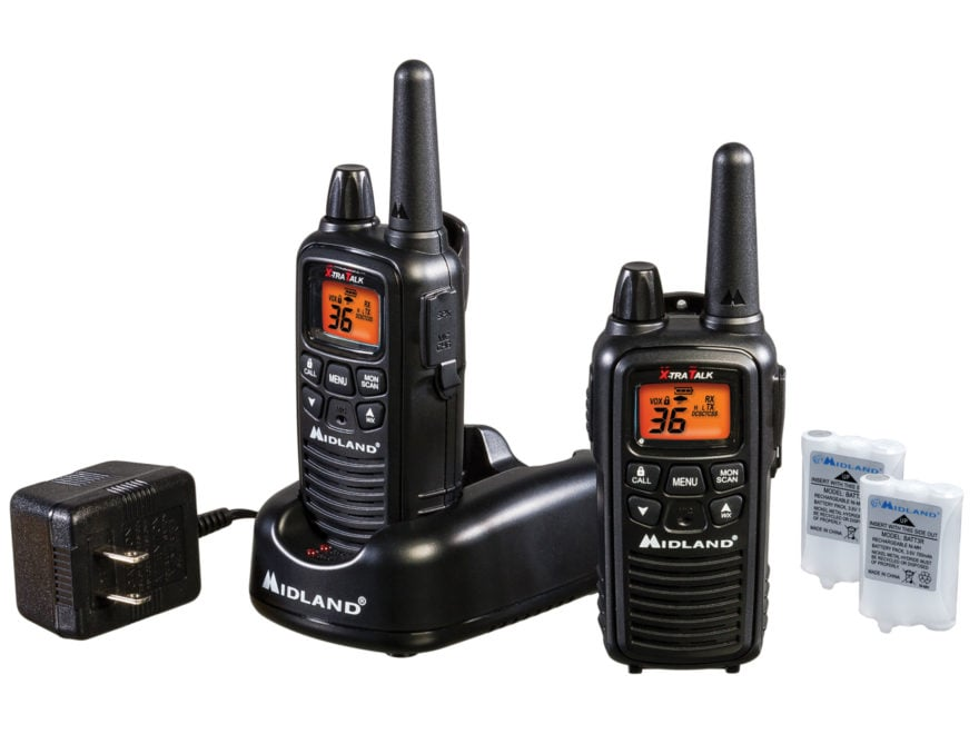 Midland LXT600VP3 Two-Way Radio with NOAA Weather Alert Combo