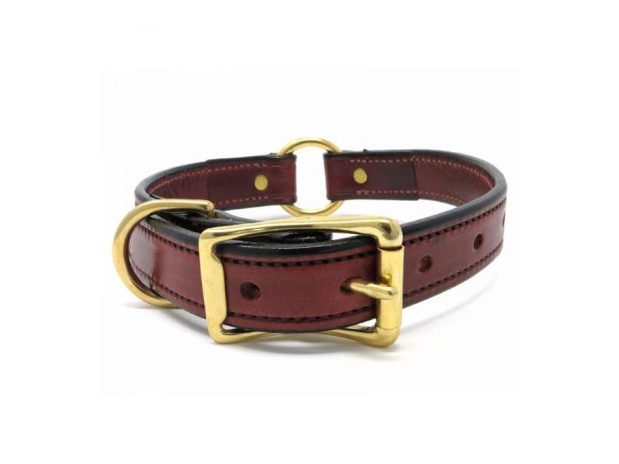"K-9 Komfort 1"" Dog Collar  Leather"
